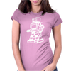 ROBOT funny Womens Fitted T-Shirt
