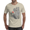 Robot n Rose Mens T-Shirt