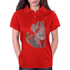 Robot n Rose Womens Polo