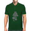 Robot Smashing Mens Polo