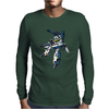 Robotech Skull One Anime Mens Long Sleeve T-Shirt