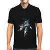 Robotech Skull One Anime Mens Polo