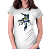 Robotech Skull One Anime Womens Fitted T-Shirt