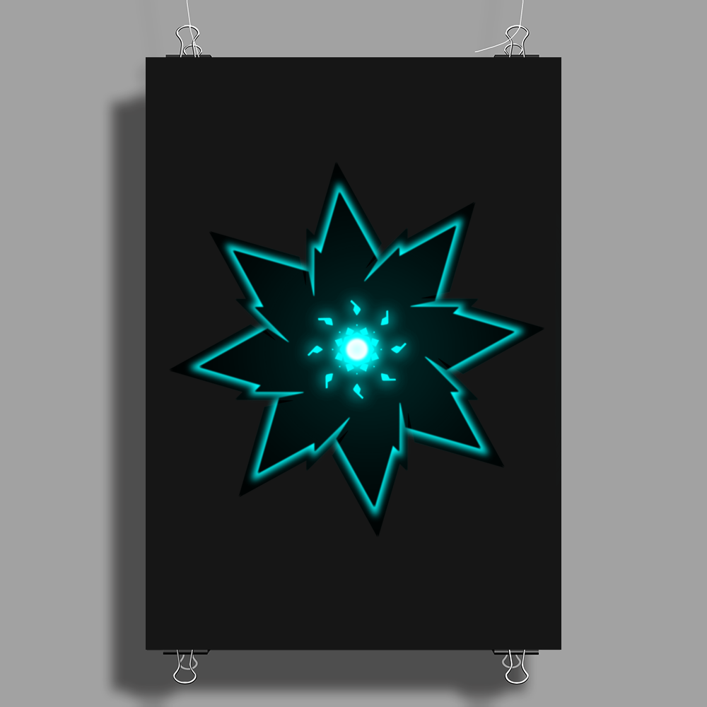 Robotic Heart Poster Print (Portrait)