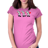 Robotic Moonwalking Womens Fitted T-Shirt