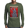 Robots Rule  Poster Mens Long Sleeve T-Shirt