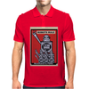 Robots Rule  poster Mens Polo