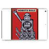 Robots Rule  Poster Tablet