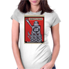 Robots Rule  Poster Womens Fitted T-Shirt