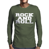 ROCK AND ROLL funny Mens Long Sleeve T-Shirt