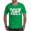 ROCK AND ROLL funny Mens T-Shirt