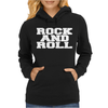ROCK AND ROLL funny Womens Hoodie