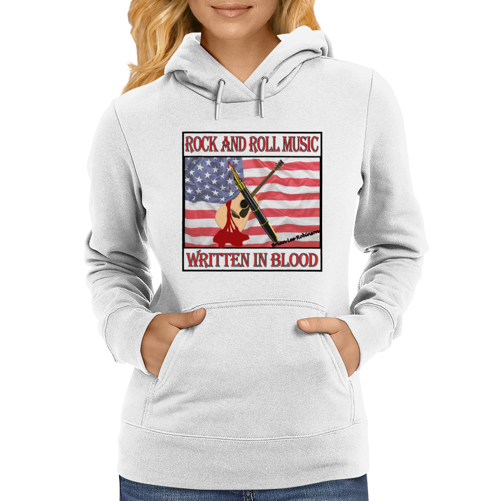 Rock and Roll- WIB Womens Hoodie