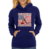 Rock and Roll- Written With Blood Womens Hoodie