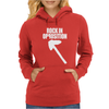Rock In Opposition Womens Hoodie