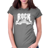 Rock Is Dead Paper Killed It Womens Fitted T-Shirt
