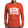 Rock Island Line Railroad Mens Long Sleeve T-Shirt