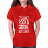 Rock N Grohl Womens Polo