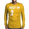 Rock On Mountain Rock Climbing Mountaineering Mens Long Sleeve T-Shirt