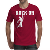 Rock On Mountain Rock Climbing Mountaineering Mens T-Shirt