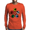Rock Paper Scissors Mens Long Sleeve T-Shirt