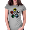 Rock Paper Scissors Womens Fitted T-Shirt