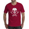 Rock Skull Mens T-Shirt