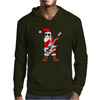 Rock Star Santa Claus Father Christmas Mens Hoodie