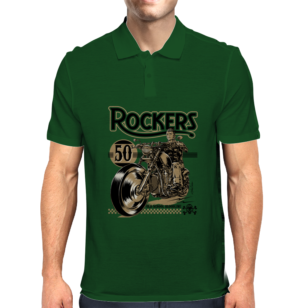 Rockers 50's Mens Polo