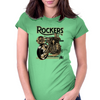 Rockers 50's Womens Fitted T-Shirt
