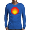 Rocket ship and the sunspot Mens Long Sleeve T-Shirt