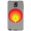Rocket ship and the sunspot Phone Case