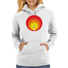 Rocket ship and the sunspot Womens Hoodie