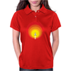 Rocket ship and the sunspot Womens Polo