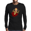 Rockin Alien Mens Long Sleeve T-Shirt