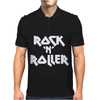 Rock'N'Roller White Mens Polo