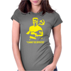 Rocky 4 Ivan Drago Homage Womens Fitted T-Shirt