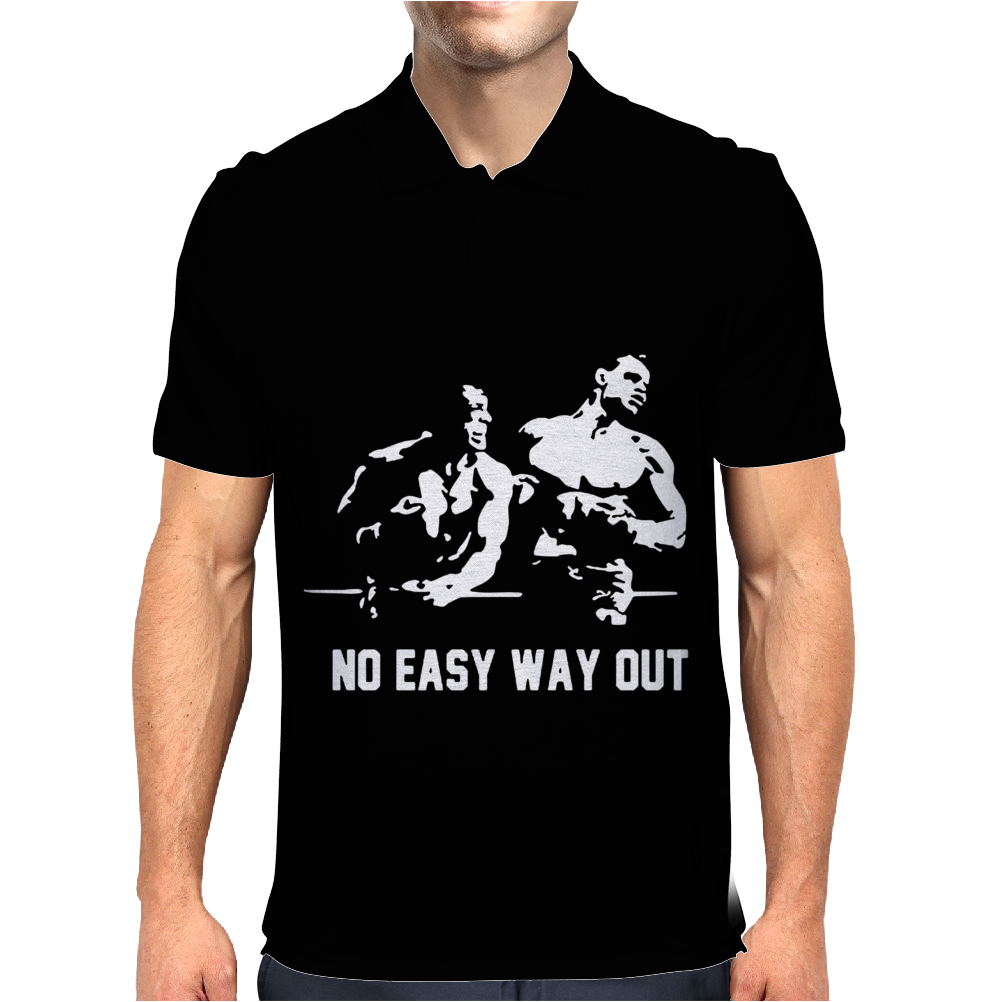 ROCKY BALBOA VS Ivan Drago Mens Polo