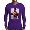 Rocky Movie Master of Disaster The One and Only Apollo Creed Mens Long Sleeve T-Shirt