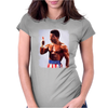 Rocky Movie Master of Disaster The One and Only Apollo Creed Womens Fitted T-Shirt