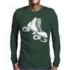 Roller Skate Funny Mens Long Sleeve T-Shirt