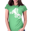 Roller Skate Funny Womens Fitted T-Shirt