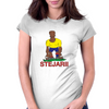 Romania Rugby 2nd Row Forward World Cup Womens Fitted T-Shirt