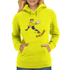 Romania Rugby Back World Cup Womens Hoodie