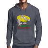Romania Rugby Forward World Cup Mens Hoodie