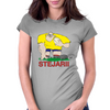 Romania Rugby Forward World Cup Womens Fitted T-Shirt