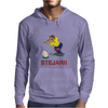 Romania Rugby Kicker World Cup Mens Hoodie
