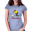 Romania Rugby Kicker World Cup Womens Fitted T-Shirt