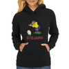 Romania Rugby Kicker World Cup Womens Hoodie