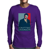 Ron Swanson President Parks Mens Long Sleeve T-Shirt